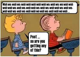 Charlie Brown teacher